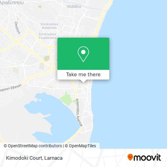 Kimodoki Court χάρτης