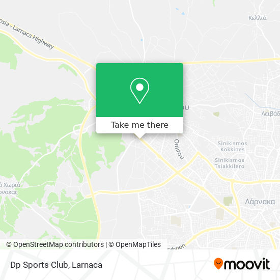 Dp Sports Club χάρτης