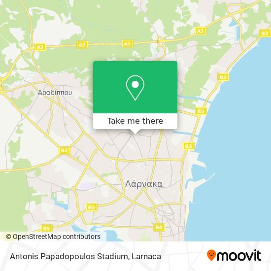 Antonis Papadopoulos Stadium χάρτης