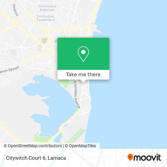 Citywitch Court 6 χάρτης
