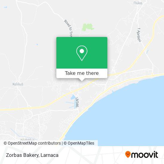 Zorbas Bakery χάρτης