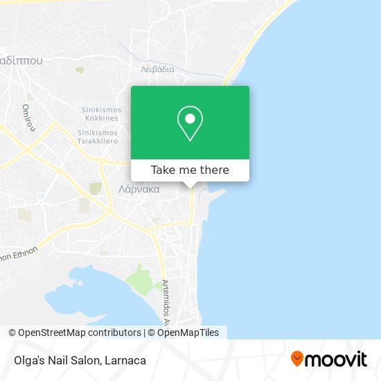 Olga's Nail Salon χάρτης