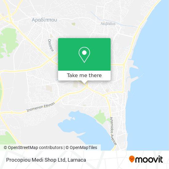 Procopiou Medi Shop Ltd χάρτης
