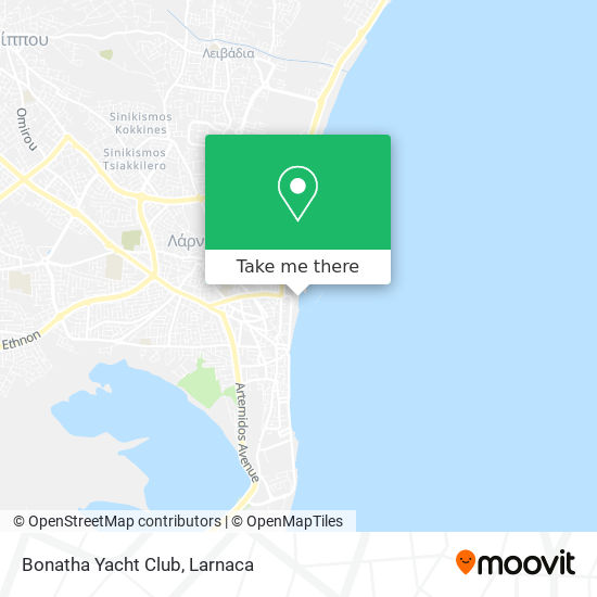 Bonatha Yacht Club χάρτης