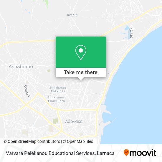 Varvara Pelekanou Educational Services χάρτης