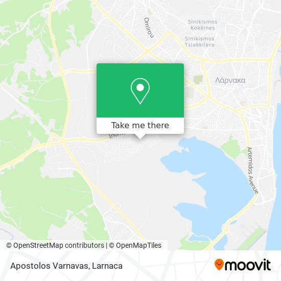 Apostolos Varnavas χάρτης