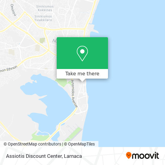 Assiotis Discount Center χάρτης