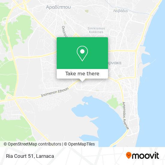 Ria Court 51 χάρτης