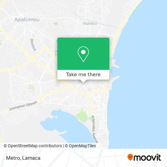 Metro χάρτης