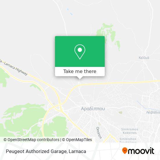 Peugeot Authorized Garage χάρτης