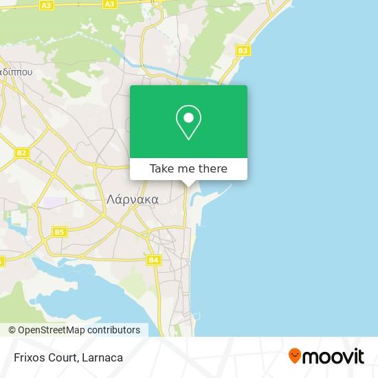 Frixos Court χάρτης