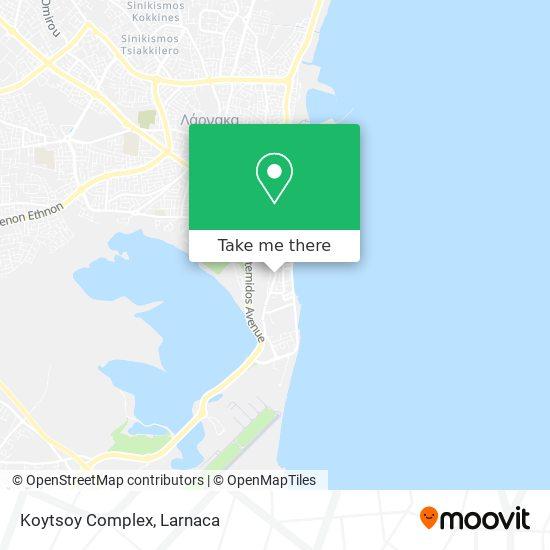 Koytsoy Complex χάρτης