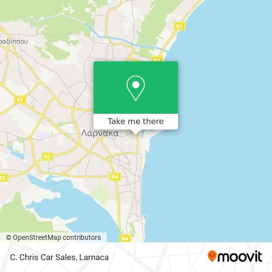 C. Chris Car Sales χάρτης