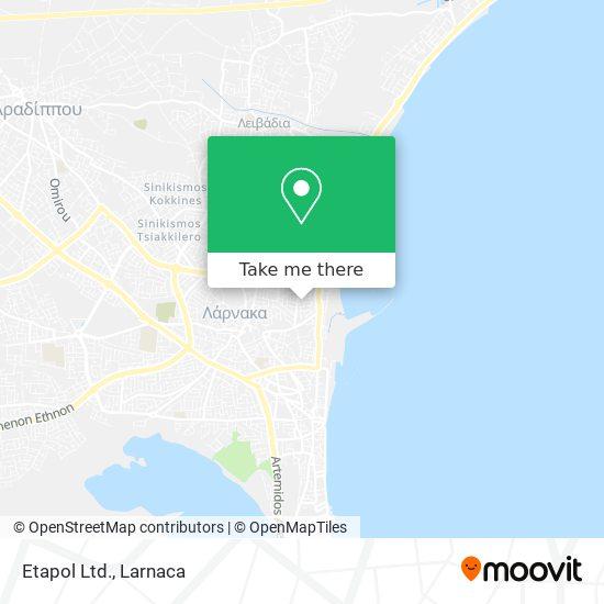 Etapol Ltd. χάρτης