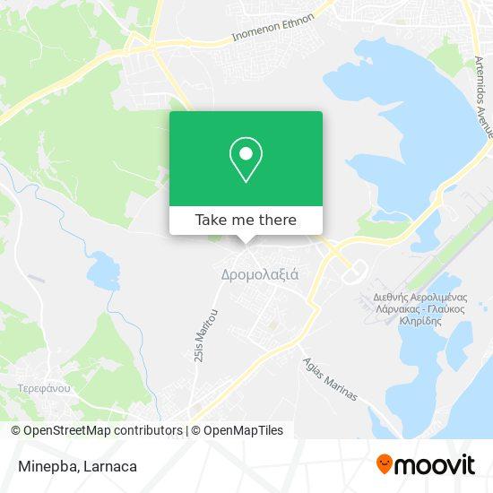 Minepba χάρτης