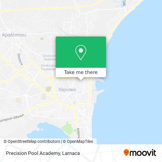 Precision Pool Academy χάρτης
