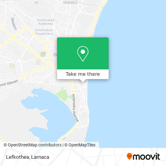 Lefkothea χάρτης