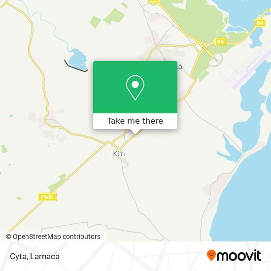 Cyta χάρτης