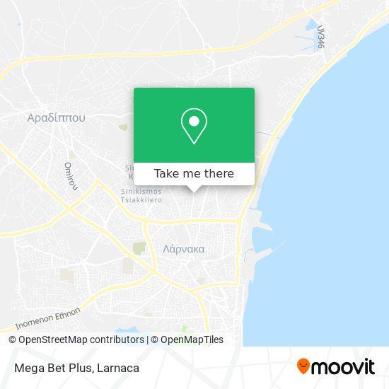 Mega Bet Plus χάρτης