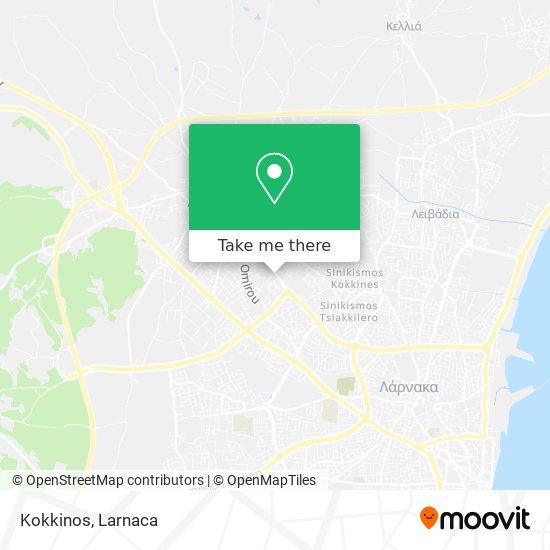 Kokkinos χάρτης