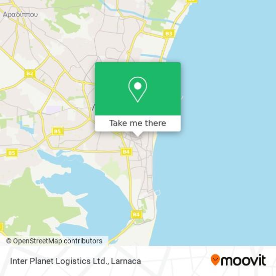 Inter Planet Logistics Ltd. χάρτης