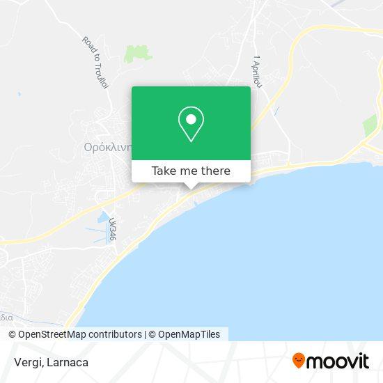 Vergi χάρτης