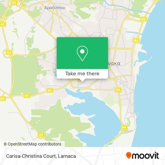 Carisa-Christina Court χάρτης