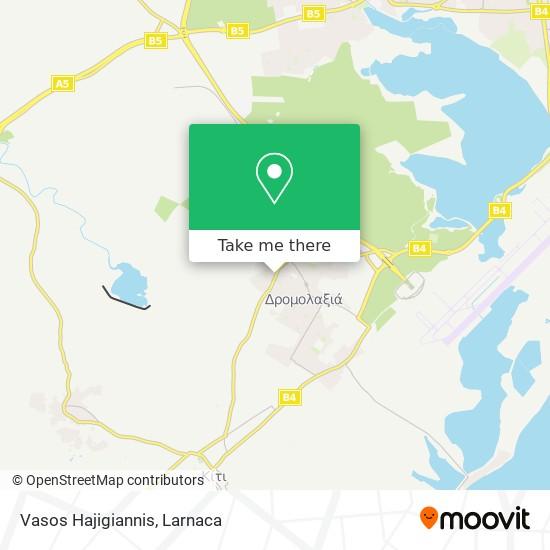 Bagos χάρτης
