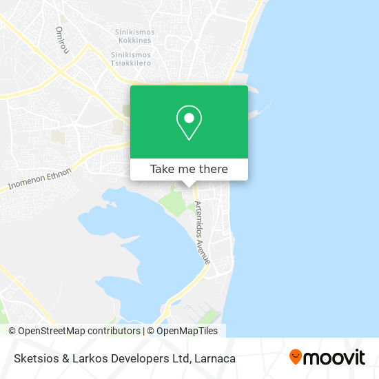 Sketsios & Larkos Developers Ltd χάρτης
