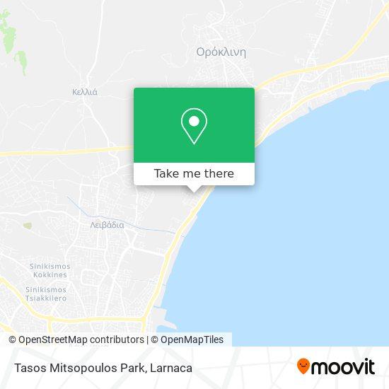 Tasos Mitsopoulos Park χάρτης