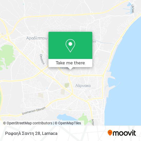 Ραφαηλ Σαντη 28 χάρτης