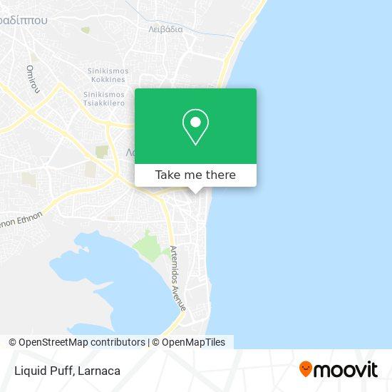 Liquid Puff χάρτης