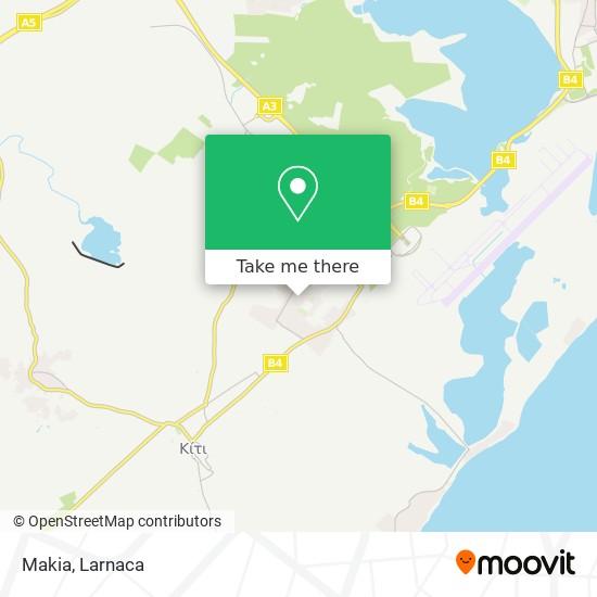 Makia χάρτης