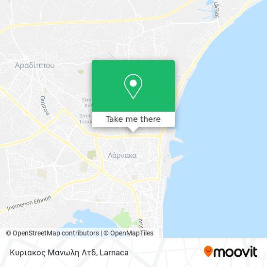 Κυριακος Μανωλη Λτδ χάρτης