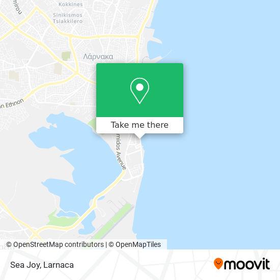 Sea Joy χάρτης