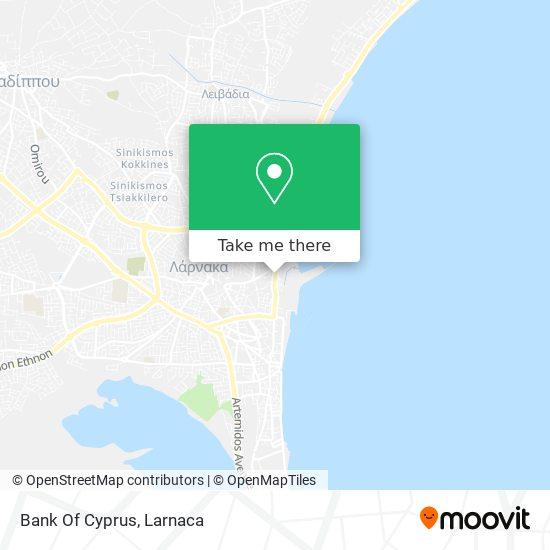 Bank Of Cyprus χάρτης