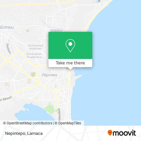 Nepintepo χάρτης