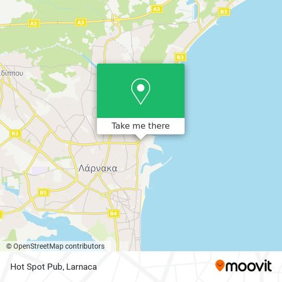 Hot Spot Pub χάρτης