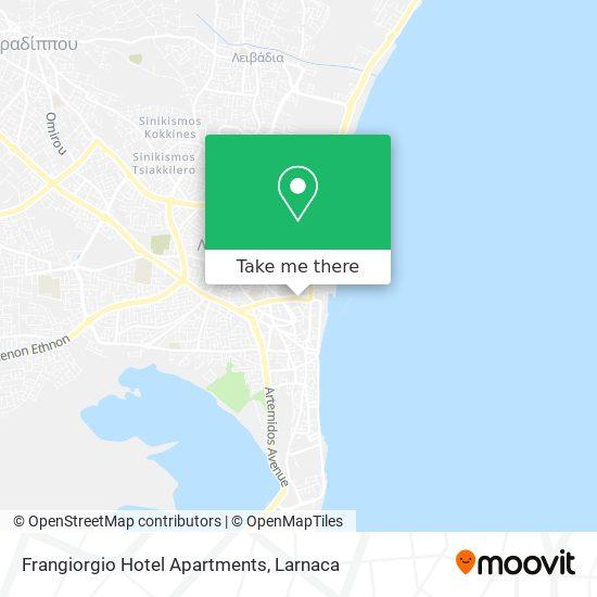 Frangiorgio Hotel Apartments χάρτης