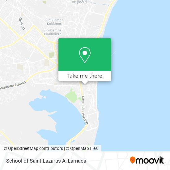 School of Saint Lazarus A χάρτης