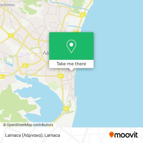 Larnaca (Λάρνακα) χάρτης