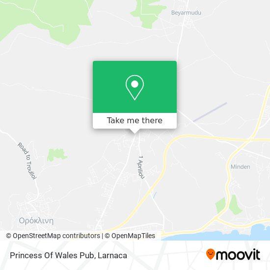 Princess Of Wales Pub χάρτης