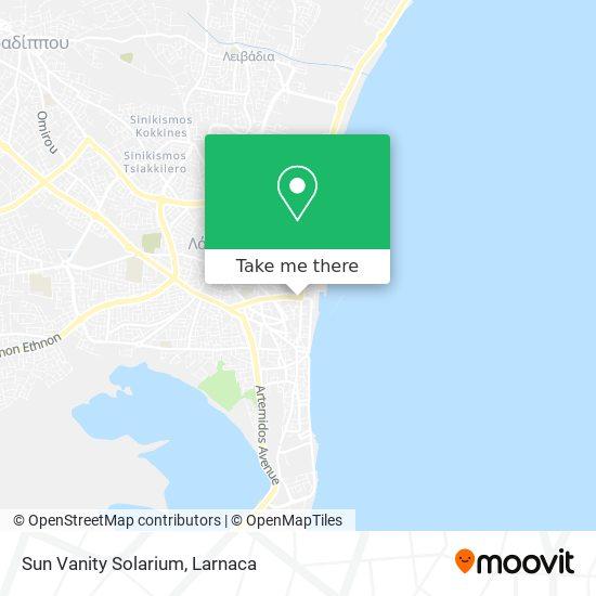 Sun Vanity Solarium χάρτης