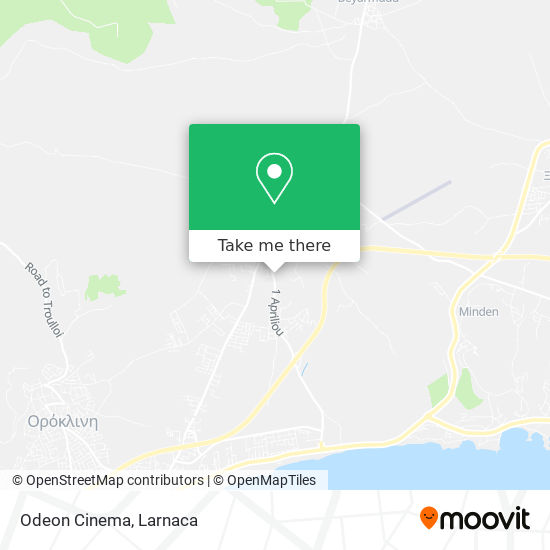 Odeon Cinema χάρτης
