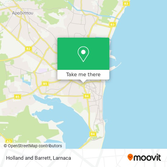 Holland and Barrett χάρτης