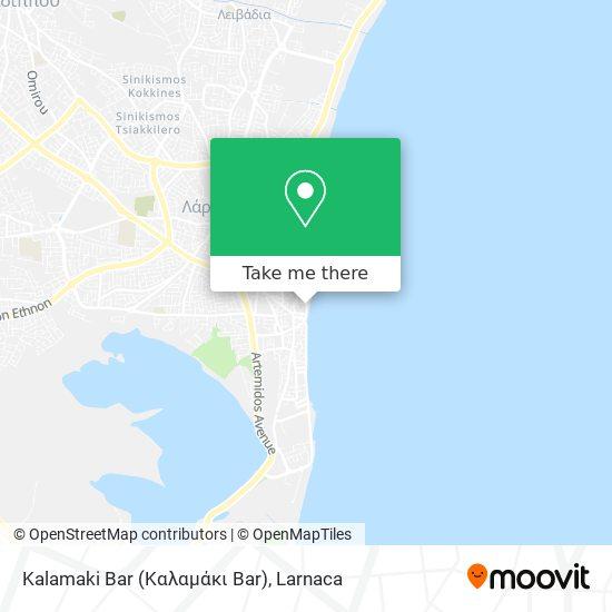 Kalamaki Bar (Καλαμάκι Bar) χάρτης