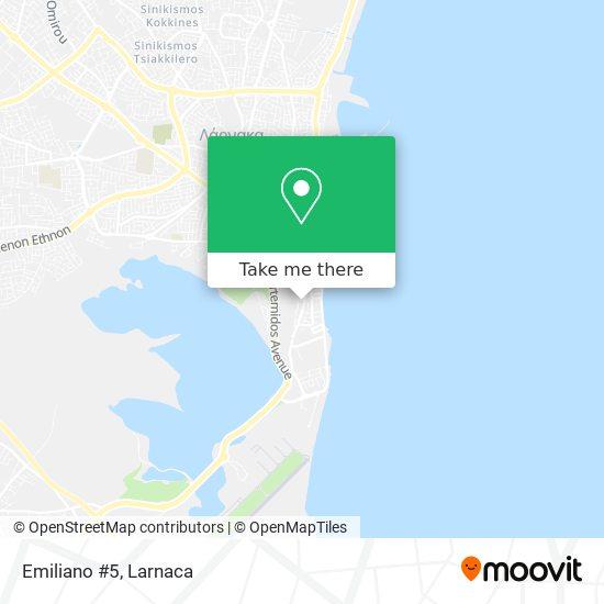 Emiliano #5 χάρτης