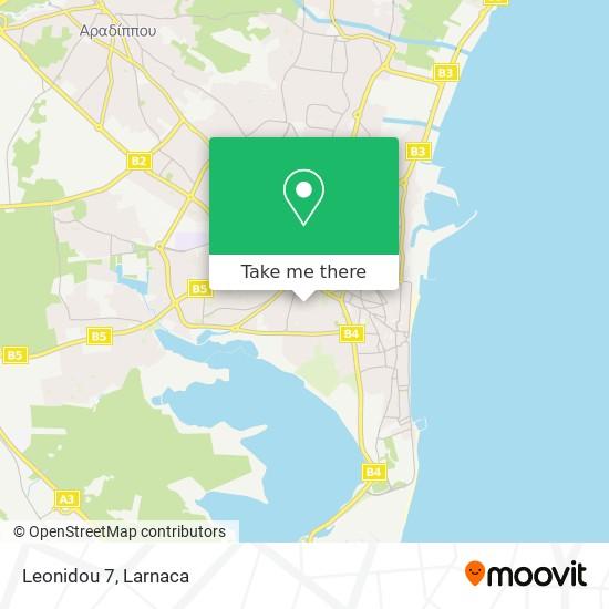 Leonidou 7 χάρτης