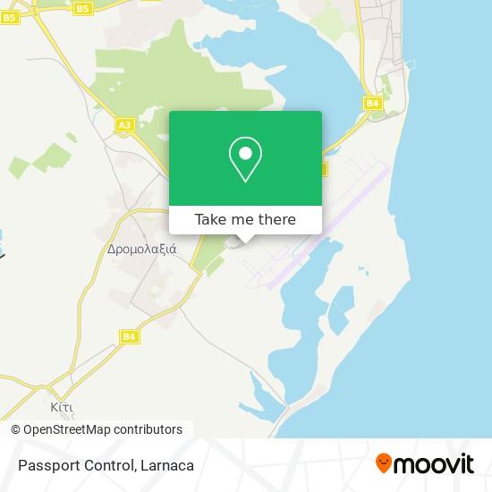 Passport Control χάρτης