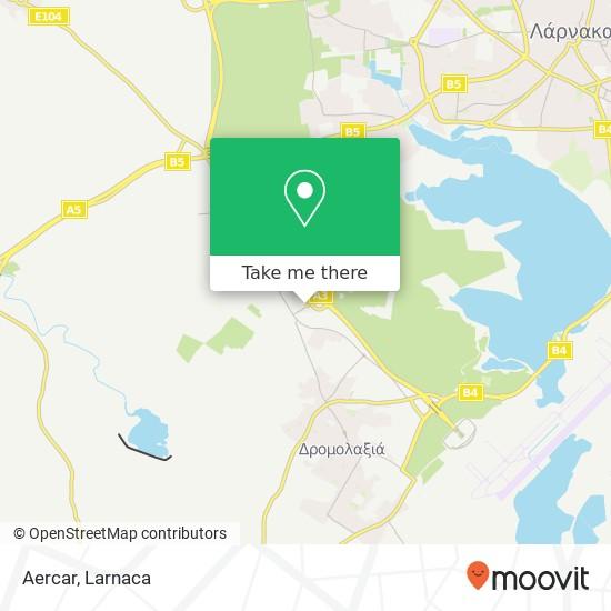 Aercar χάρτης
